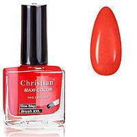 Лак-краска для стемпинга Christian красная