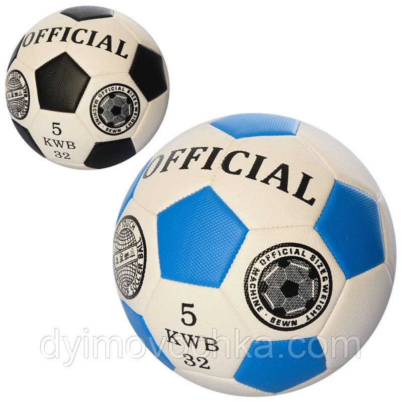 e8271c40fb1386 Мяч футбольный Official EN 3220, размер 5, 400-420 г, 2 цвета ...