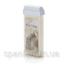 Italwax, Воск кассетный Белый шоколад «White chocolate», Италия, 100мл