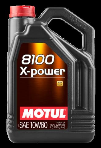 854851/8100 X-POWER SAE 10W60 (5L)/106144