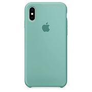 Чехол (copy) на iPhone X / XS  Silicone case Ocean Blue