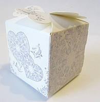 221 Бонбоньерка свадебная 5х5х6 см
