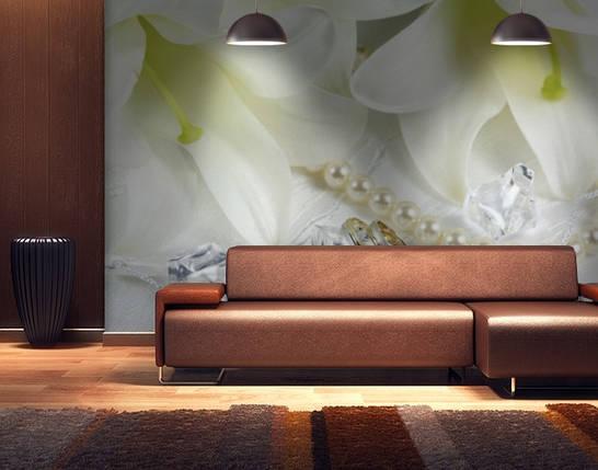 Фотообои текстурированные, виниловые Цветы, 250х380 см, fo01inV_fl13578, фото 2