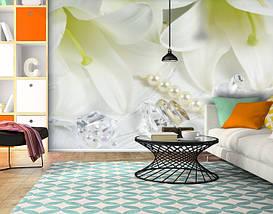 Фотообои текстурированные, виниловые Цветы, 250х380 см, fo01inV_fl13578, фото 3