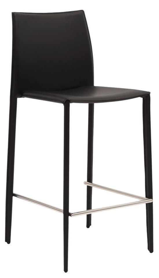 Полубарный стул Grand чёрный TM Concepto