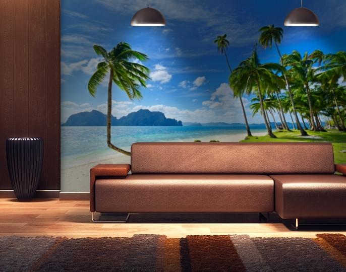 Фотообои текстурированные, виниловые Море, 250х380 см, fo01inV_mp12811