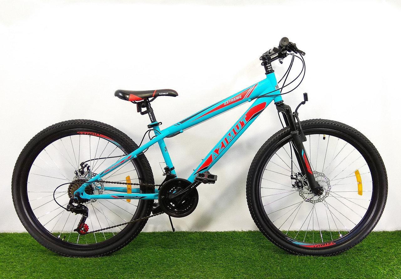 Горный велосипед Azimut Extreme 26 D Бирюзовый