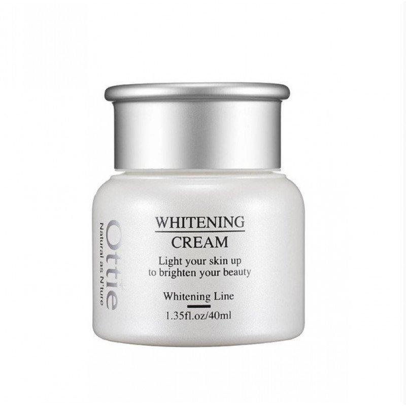 Отбеливающий крем для лица Ottie Whitening Cream 40ml