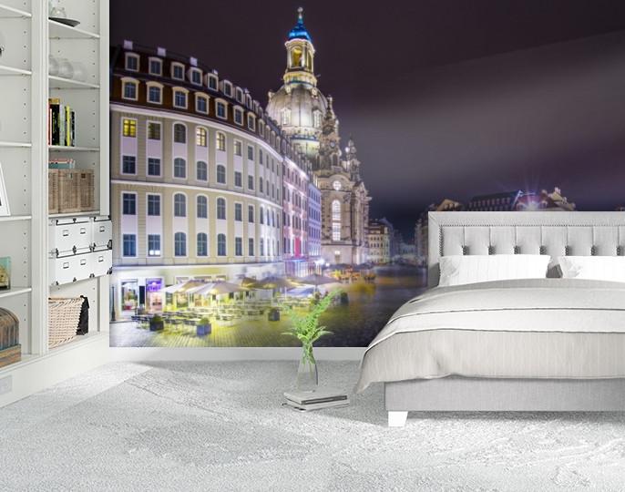 Фотообои текстурированные, виниловые Город, 250х380 см, fo01inV_gd10531