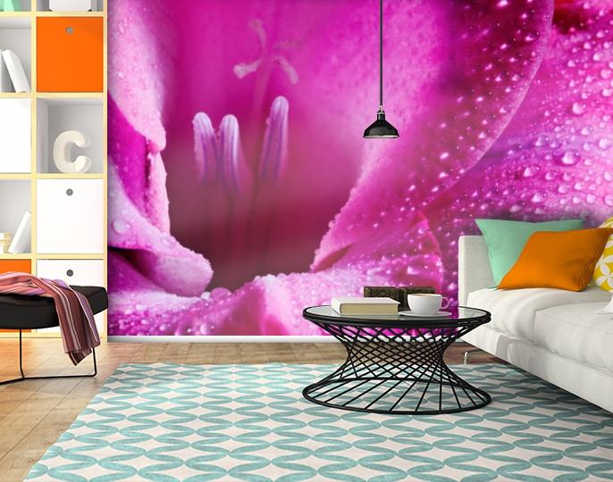 Фотообои текстурированные, виниловые Цветы, 250х380 см, fo01inV_fl102888