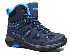 Ботинки ТОМ.М арт.Т-8885-D еврозима, синий , 32, 21.3