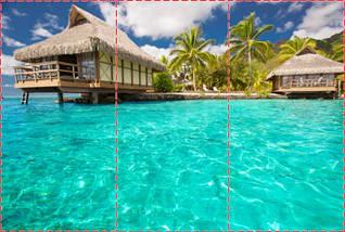 Фотообои текстурированные, виниловые Море, 250х380 см, fo01inV_mp12321, фото 2
