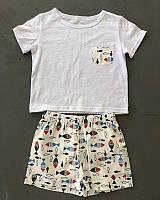 Дитячий літній костюм шорти і футболка для хлопчика
