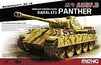 Sd. Kfz.171 Panther Ausf. D. сборная пластиковая модель в масштабе 1/35. MENG MODELS TS-038
