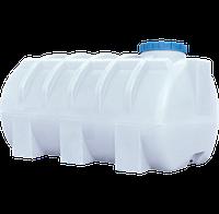 Емкость для воды на 1000 л пластиковая горизонтальная белая  ГО ПБ (90*170*90см)