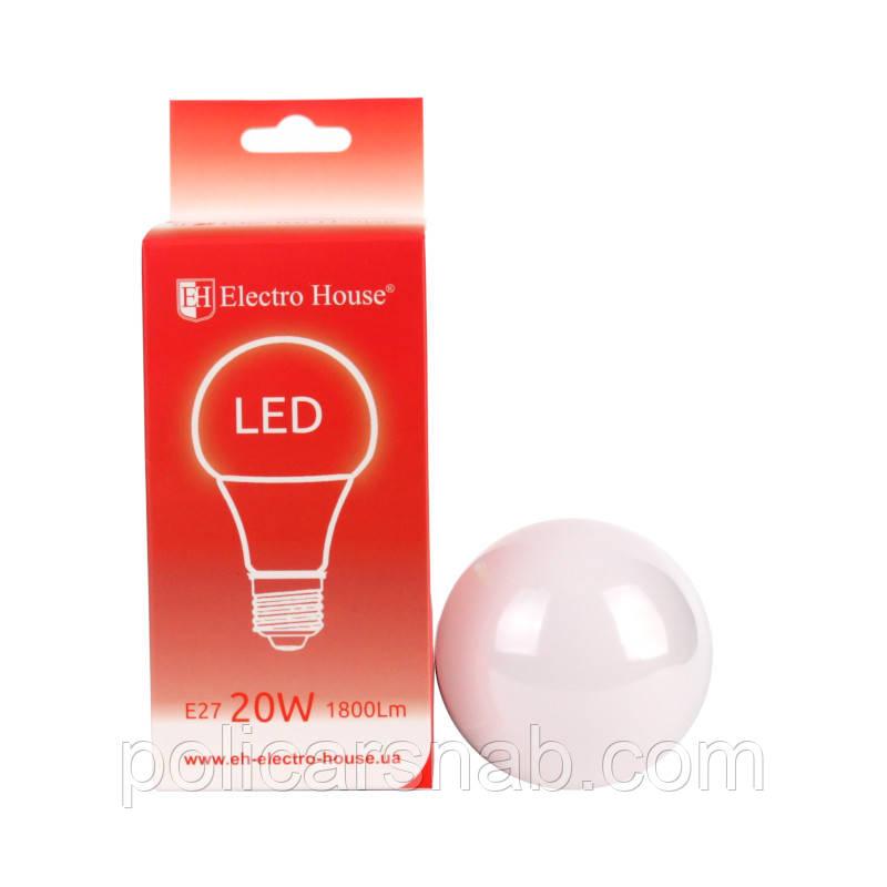 LED лампа А70 Е27 20W