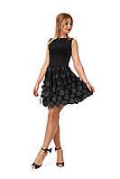 Нарядное молодежное платье (1168)