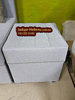 Пуф на пружинном блоке с ящиком