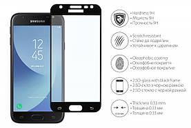 Захисне скло 2E Samsung J330 2.5D black (2E-TGSG-GJ317)