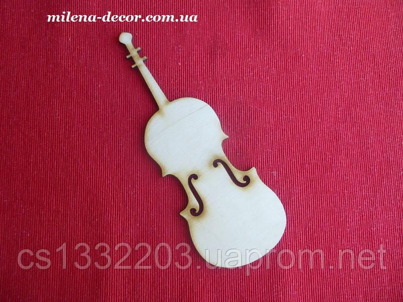 Музыкальный инструмент 20*9см (фанера)