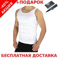 Мужская корректирующая майка, утягивающая Slim'n Lift для похудения + нож-визитка