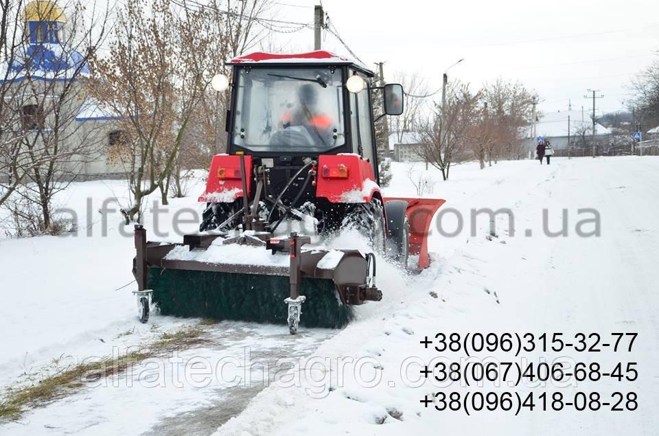 Щетка дорожная к трактору МТЗ, ЮМЗ
