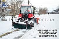 Щетка дорожная (коммунальная) к трактору МТЗ, ЮМЗ
