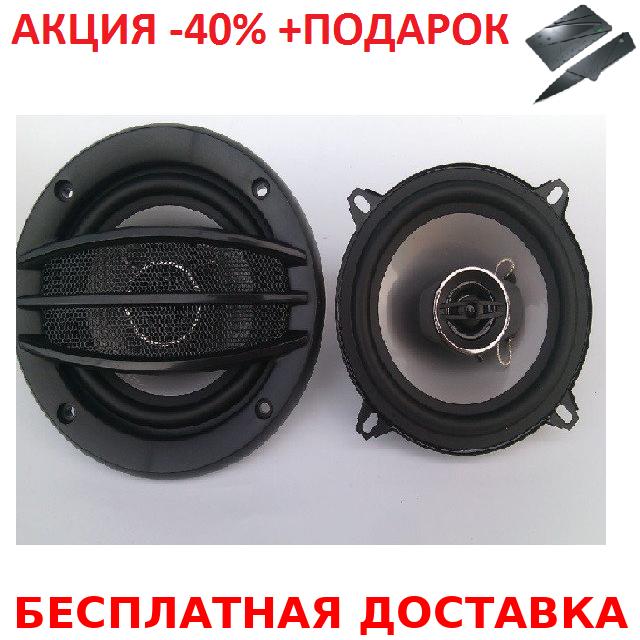 Автоакустика колонки динамики для автомобиля d 13 см круглые BLISTER Авто акустика Original size+Нож кредитка