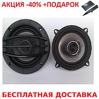 Автоакустика колонки динамики для автомобиля d 13 см круглые BLISTER Авто акустика Original size+Нож кредитка, фото 1
