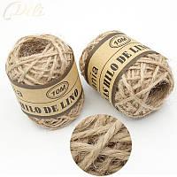 10 м/roll натуральный пеньковая веревка шпагат 24 рулона/коробка джут Нитки