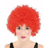 Парик клоуна (красный) 220216-089