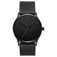 Мужские кварцевые часы MVMT (Чёрные)