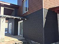 Сайдинг Stone House Кирпич графитовый