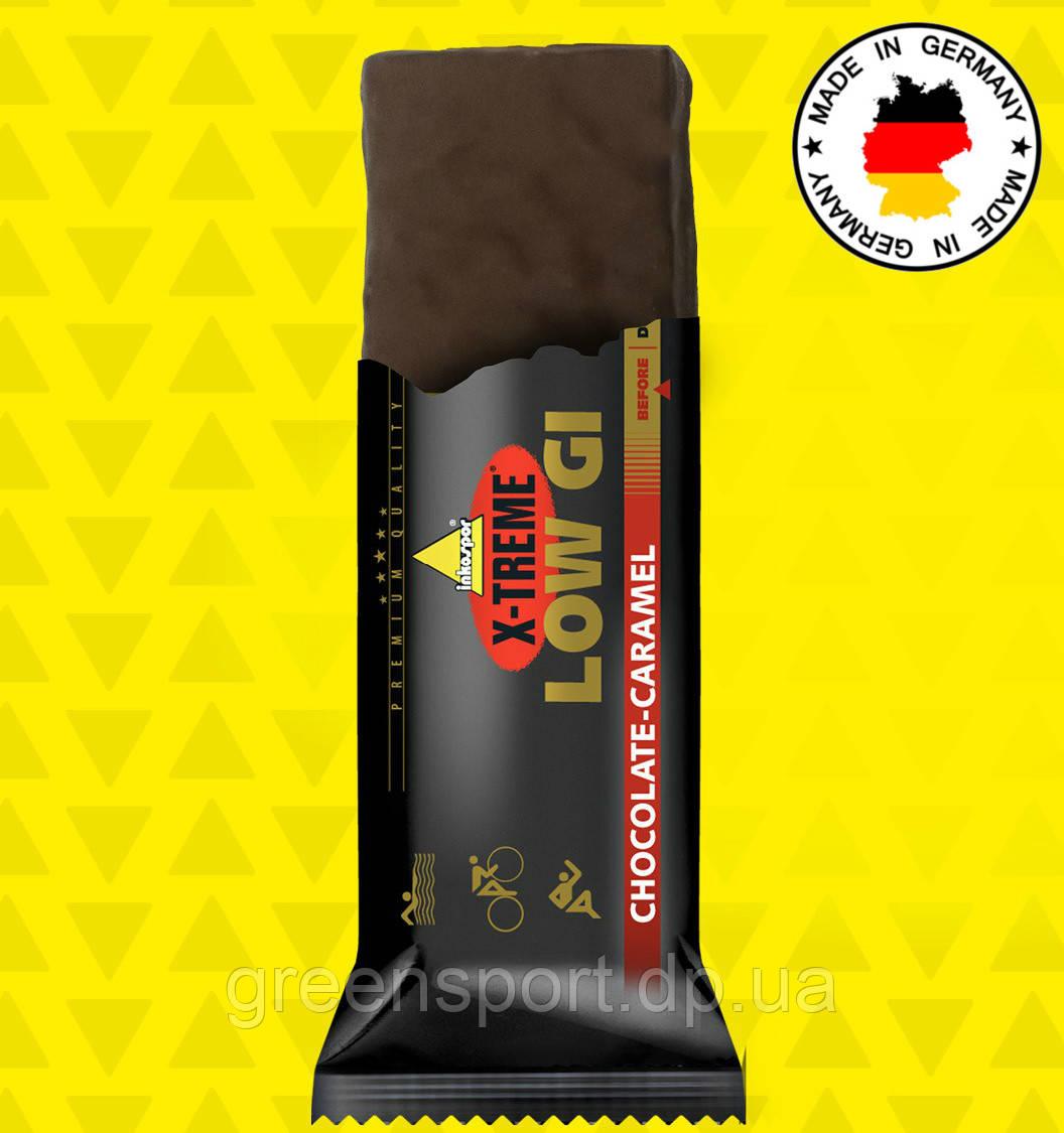 Энергетический батончик Inkospor X-Treme Low Gi (65 г) Шоколад-карамель