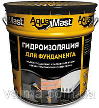 Мастика бітумна TECHNONICOL Aquamast для фундаменту, 18 кг
