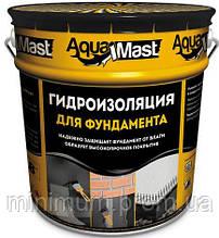 Мастика битумная TECHNONICOL Aquamast для фундамента, 18 кг