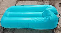 Надувной плавательный гамак-ламзак из прорезиненной ткани размер 190*120 см