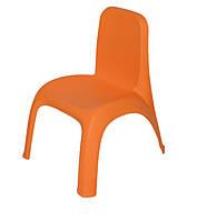 Стілець дитячий помаранчевий, фото 1