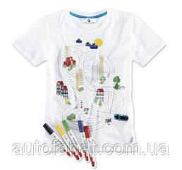 Оригинальная детская интерактивная футболка BMW i T-Shirt Interactive, Kids (80142411517)