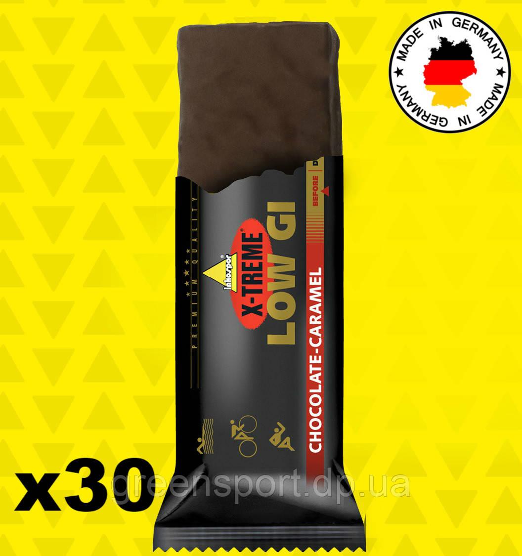 Энергетические батончики Inkospor X-Treme Low Gi (30 x 65 г) Шоколад-карамель