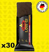 Энергетические батончики Inkospor X-Treme Low Gi (30 x 65 г) Шоколад-карамель, фото 1