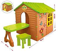 Домик для детей Mochtoys +столик+стульчик - 04