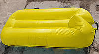 Надувной плавательный гамак-ламзак прорезиненный 1.9м х 1.2 м.