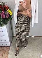 Стильная юбка гофре «Горошек»