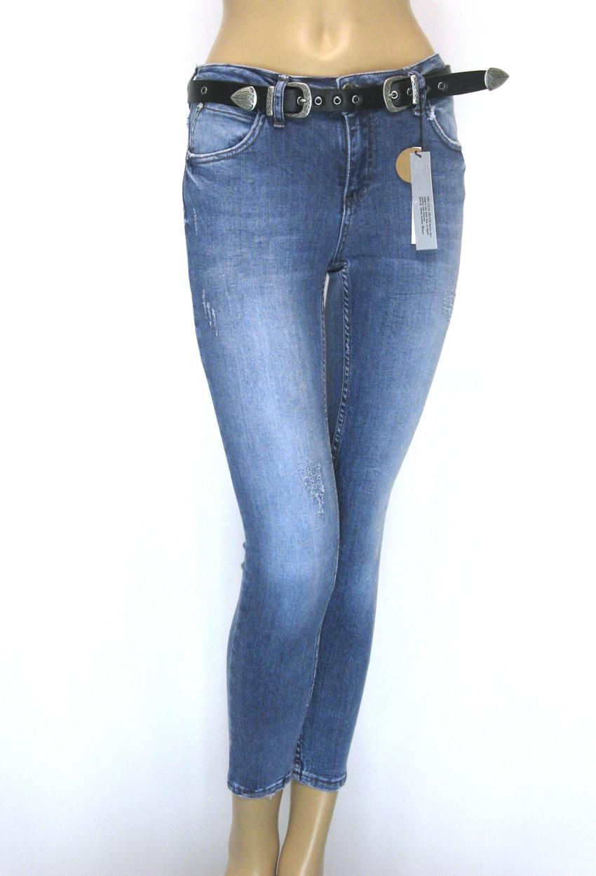 Жіночі джинси з низькою посадкою маломірки