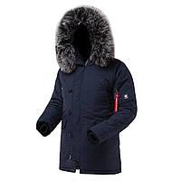 Мужская куртка аляска AIRBOSS Snorkel Parka, USA (синяя)