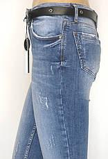 Жіночі джинси з низькою посадкою маломірки , фото 3