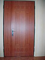 Двери двустворчатые