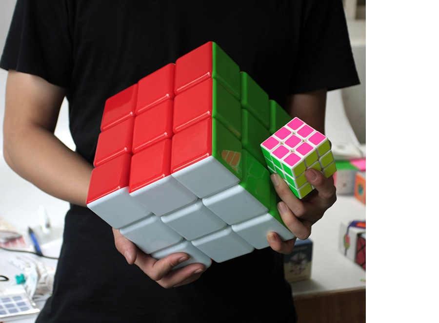 Кубик Рубика 3x3 (18x18 см) BIG CUBE (цветной)
