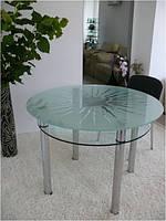 Обеденный стол Maxi Dt k 1060 (2) матовый с рисунком